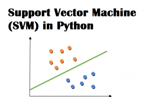 Support Vector Machine (SVM) in Python