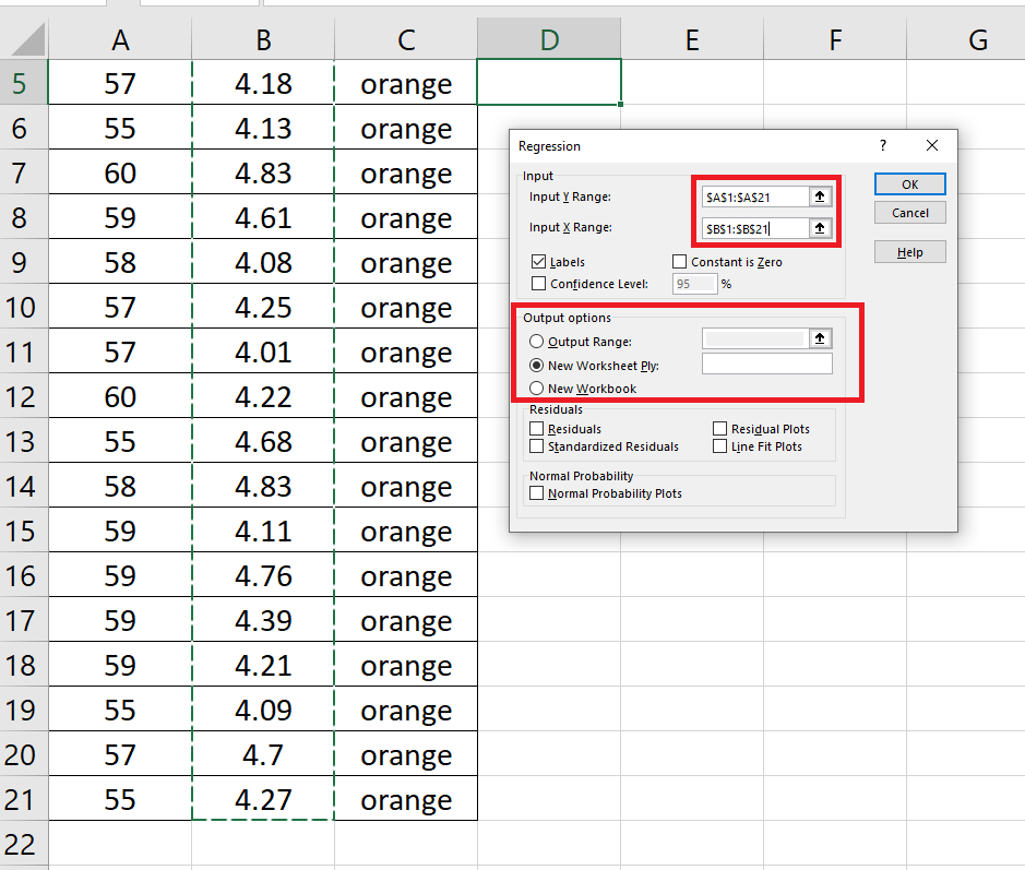 regression-analysis-in-excel