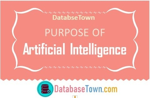 What is the purpose of artificial intelligence